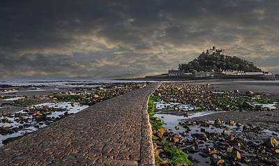 Saint Michael's Mount Cornwal Uk Poster by Martin Newman
