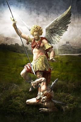 Saint Michael's Triumpf Poster