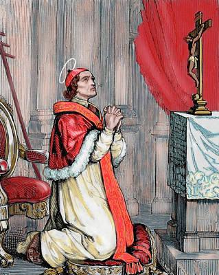 Saint Pius V (1504-1572 Poster by Prisma Archivo