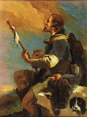 Saint Roch Poster by Giovanni Battista Tiepolo