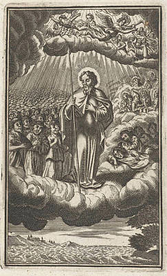 Saint Thomas In Heaven, Anonymous, Samuel Van Hoogstraten Poster