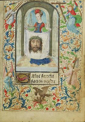 Saint Veronica Lieven Van Lathem, Flemish, About 1430 - Poster