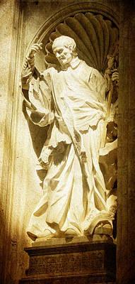 Saint Vincent De Paul At Vatican Poster