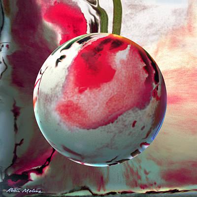 Sakura Sphere Poster by Robin Moline