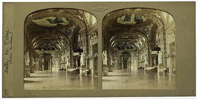 Salle Du Trone Palais Du Senat France, Florent Grau Poster by Quint Lox
