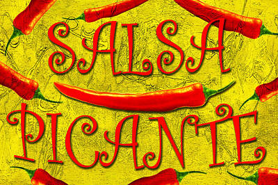 Poster featuring the photograph Salsa Picante by Selke Boris