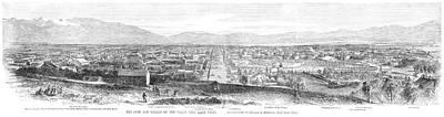 Salt Lake City, 1866 Poster by Granger