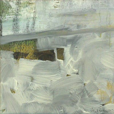 Poster featuring the painting Salt Marsh C2013 by Paul Ashby