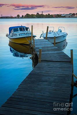 Salto Boats Poster