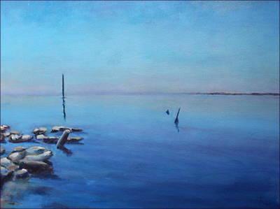Salton Sea Poster by Rosemarie Hakim