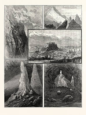 Salzburg And Its Mountain Scenery 1. Path On The Geiereck Poster by Austrian School