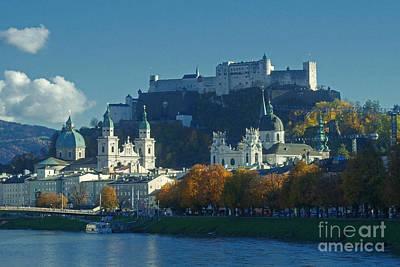 Salzburg Austria In Fall Poster