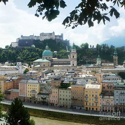 Salzburg Austria Old Town 3 Poster