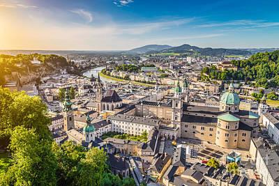 Salzburg Sunset Poster by JR Photography