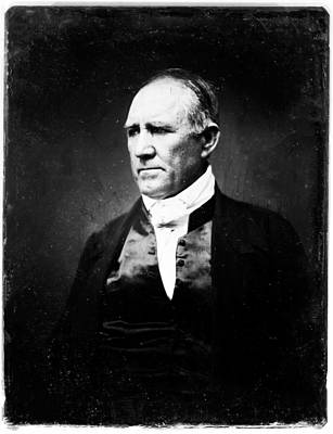 Sam Houston Poster by Bill Cannon