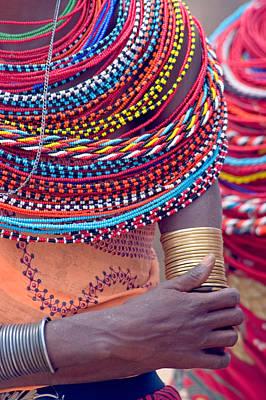Samburu Tribal Beadwork Poster by Panoramic Images