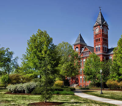 Samford Hall - Auburn University Poster by Mountain Dreams
