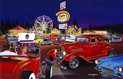 Sammy's Playland Poster by Bruce Kaiser