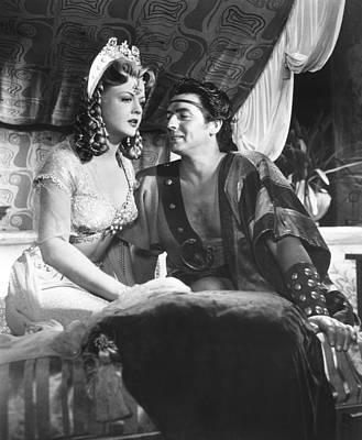 Samson And Delilah, From Left Angela Poster