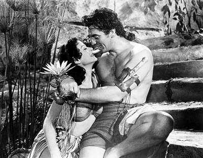 Samson And Delilah, From Left, Hedy Poster