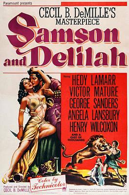 Samson And Delilah, Poster Art, Left Poster