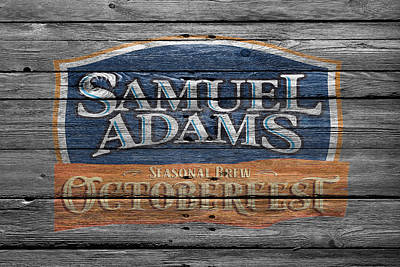 Samuel Adams Poster by Joe Hamilton