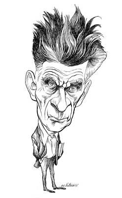 Samuel Beckett (1906-1989) Poster