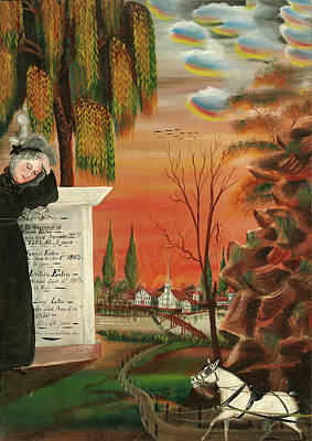 Samuel Jordan, Eaton Family Memorial, American Poster