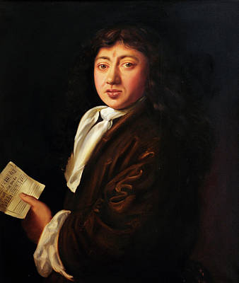 Samuel Pepys By Melicent S Grose Poster by Bodleian Museum/oxford University Images