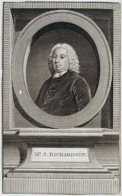 Samuel Richardson Poster by British Library