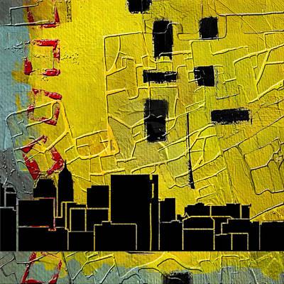 San Antonio 002 C Poster by Corporate Art Task Force
