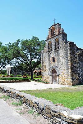 San Antonio Missions National Historical Park Mission Espada Chapel Poster by Shawn O'Brien