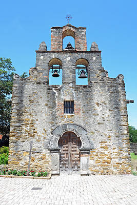 San Antonio Missions National Historical Park Mission Espada Facade Exterior Poster by Shawn O'Brien