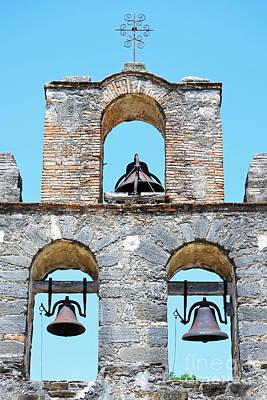 San Antonio Missions National Historical Park Mission Espada Three Bells Steeple Poster