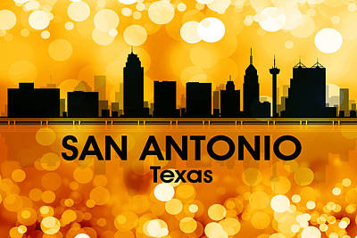San Antonio Tx 3 Poster