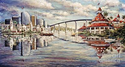 San Diego And Coronado Heritage Poster