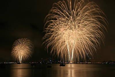 San Diego Bay Fireworks Poster