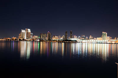 Poster featuring the photograph San Diego Ca by Gandz Photography