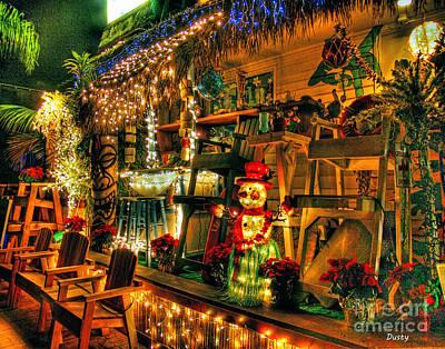 San Diego Christmas Poster