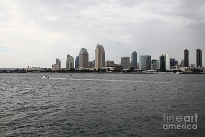 San Diego Skyline 5d24336 Poster by Wingsdomain Art and Photography