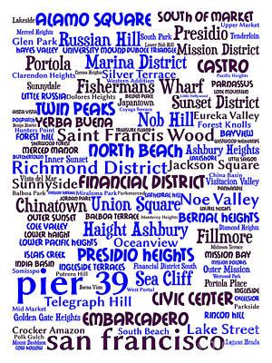 San Francisco 20130710whi Poster