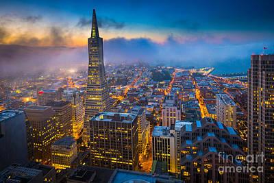 San Francisco After Dark Poster