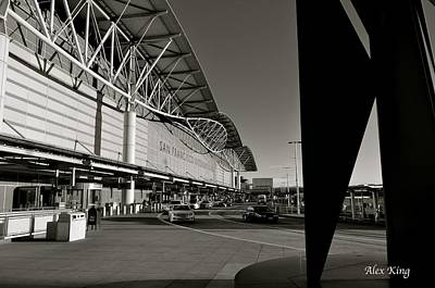 Poster featuring the photograph San Francisco Airport by Alex King