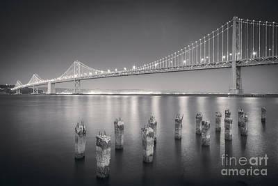 San Francisco Bay Bridge Poster by Colin and Linda McKie