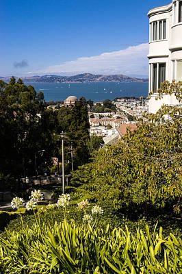 San Francisco Bay Poster by Mark Llewellyn