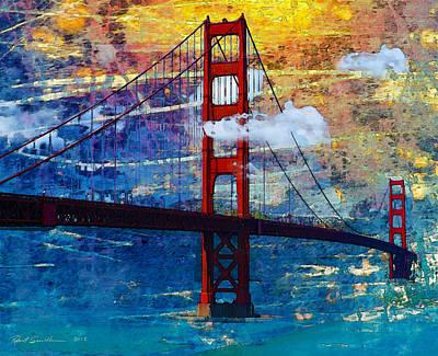 San Francisco Bridge Poster by Robert Smith