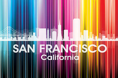San Francisco Ca 2 Poster