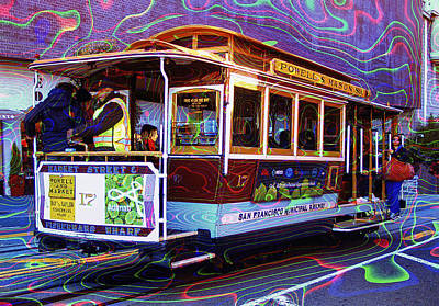 San Francisco Cable Car No. 17 Poster by Daniel Hagerman
