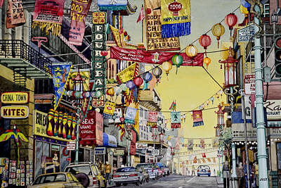 San Francisco Chinatown Poster
