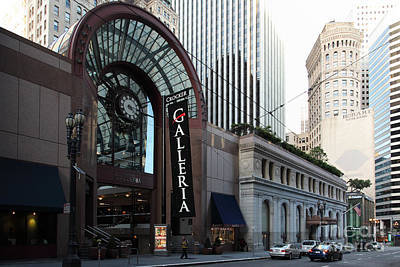 San Francisco Crocker Galleria - 5d20596 Poster